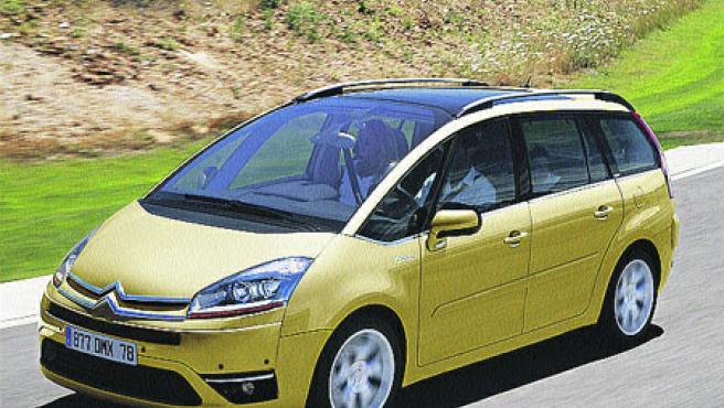 El nuevo Citroën C4 Picasso se fabrica íntegramente en Vigo.
