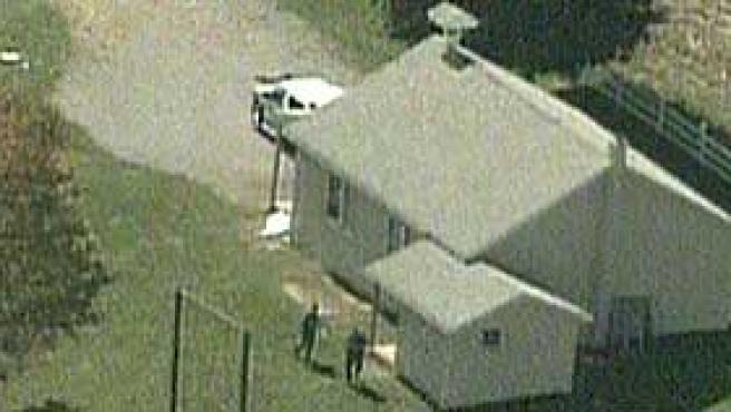 Escuela donde se ha desarrollado el tiroteo, en Lancaster, Pennsylvania (EEUU).