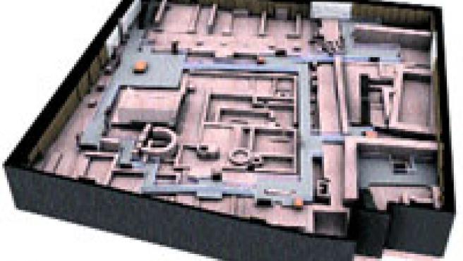 La imagen muestra cómo se distribuirá el museo.