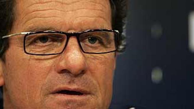 El entrenador del Real Madrid, Fabio Capello. (ARCHIVO)
