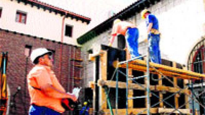 La construcción es uno de los sectores con más trabajadores autónomos.