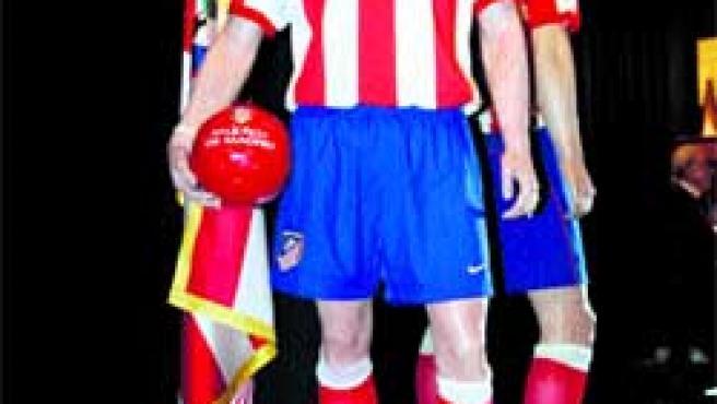 Versión en cera del futbolista Fernando Torres.