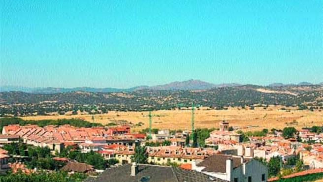 Vista de Quijorna, donde Plarquin desarrolla 10.000 viviendas.(Archivo)