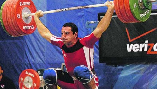 La República Dominicana acoge estos días los Mundiales de Halterofilia.(EFE)