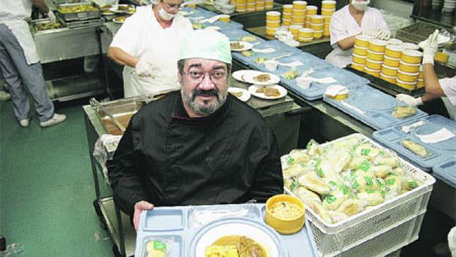 Unas 800 personas comieron ayer de lujo gracias a las Jornadas sobre Hostelería y Nutrición (José Rojas).