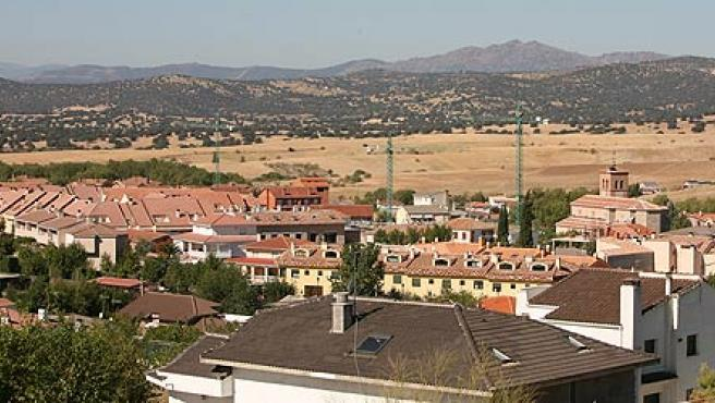 Obras en Quijorna (Madrid), donde una empresa vinculada a Enrique Porto fue la adjudicataria de varios proyectos.
