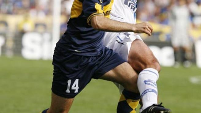Un partido de la liga argentina (Leo La Valle/EFE).