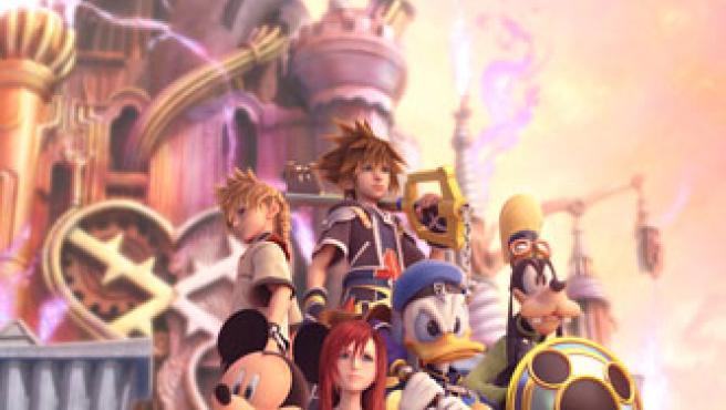 Protagonistas de Kingdom Hearts II.