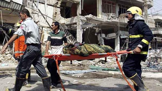 Al menos 11 personas han muerto en el atentado hoy en Bagdad. (Namir Noor-Eldeen / Reuters)