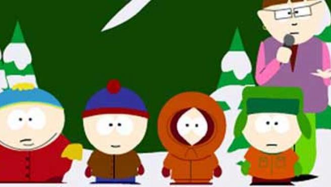 Los chicos de 'South Park'.