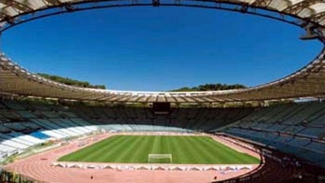 El estadio Olímpico de Roma (www.asromacalcio.it)