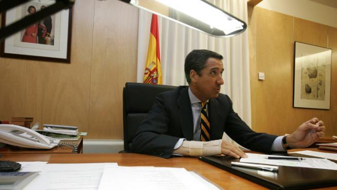 Eduardo Zaplana. (Foto: Jorge París).