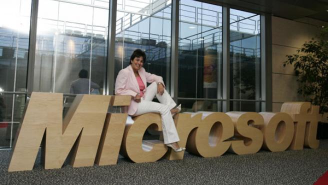 Rosa García dirige Microsoft Ibérica desde 2002. (Jorge París)