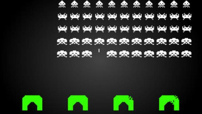 El juego Space Invaders, los 'marcianitos'.