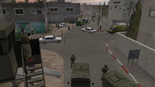 El jugador asume el papel de un periodista en pleno conflicto palestino-israelí.