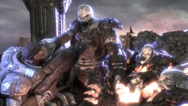 'Gears of War' fue uno de los juegos más valorados por la crítica en el X06.