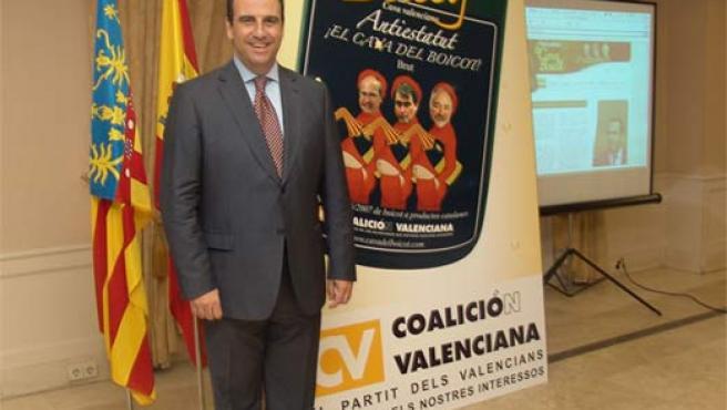 Juan García Sentandreu anima al boicot catalán