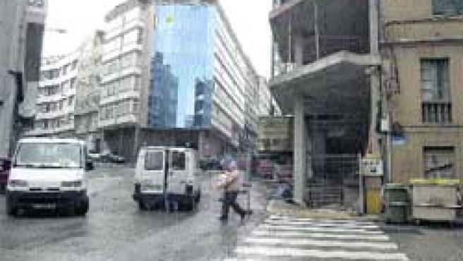 Las nuevas construcciones han subido los precios de la vivienda en esta zona. (Moncho Fuentes)