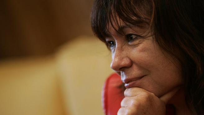 La ex ministra Cristina Narbona, en su despacho del Ministerio de Medio Ambiente en 2006. (Jorge París).