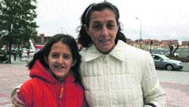 Isabel y Amparo.