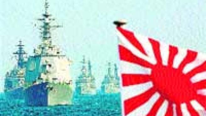 La Armada nipona vigila el embargo a Corea del Norte. (Efe).