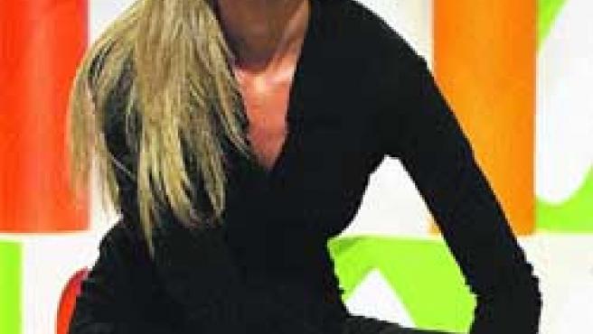 Anne Igartiburu. Presentadora de Corazón de otoño.