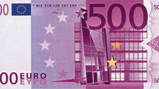 Billete de 500 euros (Archivo).