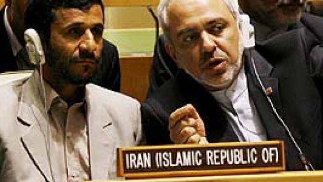 Ahmadineyad en la ONU. (EFE)