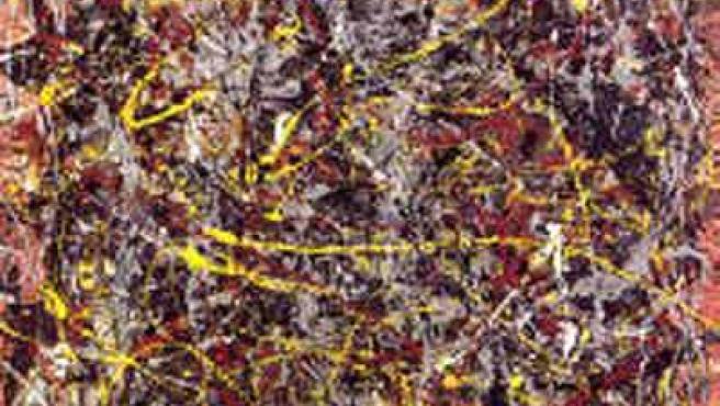 'No. 5, 1948', de Pollock, vendido por 140 millones de dólares. (ARCHIVO)