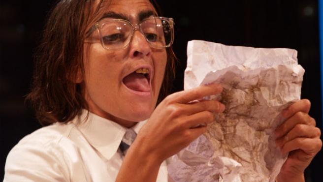 Silvia Abril interpretando a La Niña de Shrek.(Mia Font)