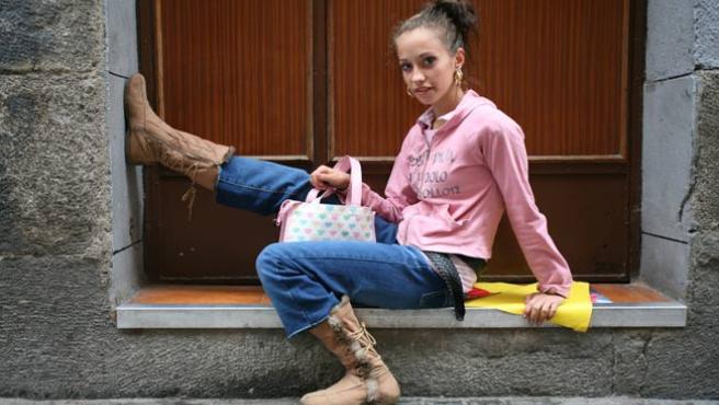 Lorena Gutiérrez, la 'juani' de Madrid. (Sergio González)