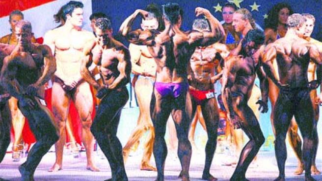 Los Campeonatos Mundiales de Fitness han reunido en Grecia a decenas de participantes. (EFE)