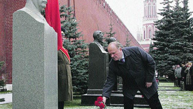 Líder del Partido Comunista ruso, Gennady Zyuganov. (Y. K. / efe).