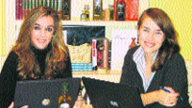 Raquel y Tatiana, las responsables de este negocio.