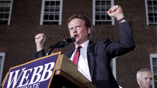 Jim Webb, candidato demócrata por el estado de Virginia. (EFE)