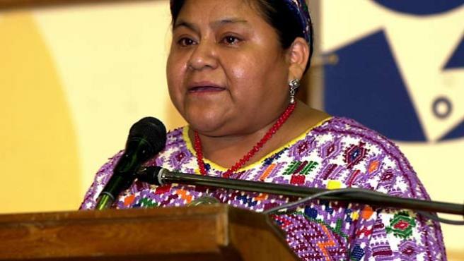 Rigoberta Menchú. (ARCHIVO)