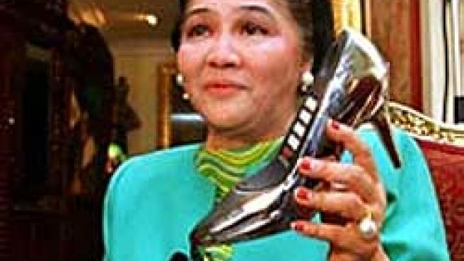Imelda Marcos (Foto: Archivo)