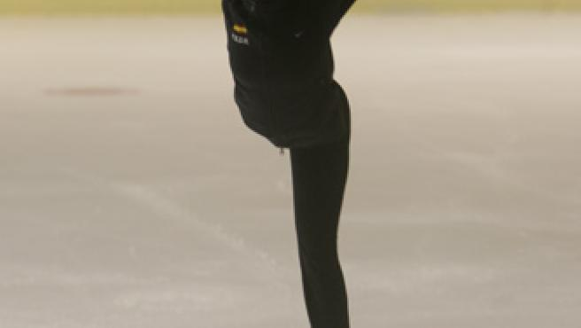 Sonia Lafuente, patinadora española. (Jorge Paris)