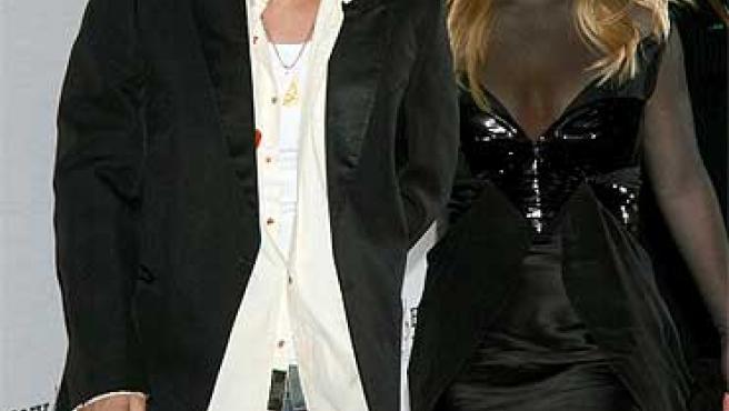 Britney y Kevin en la entrega de los Grammy ©Korpa