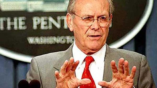 Donald Rumsfeld. (ARCHIVO)