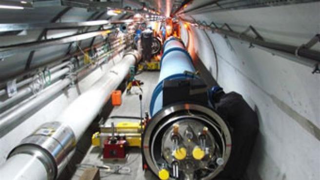 El Large Hadron Collider (LHC).