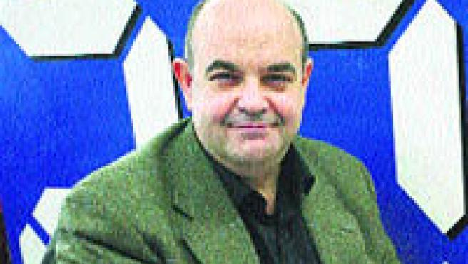 Esteban Beltrán, en la sede de 20 minutos. (Sergio González).