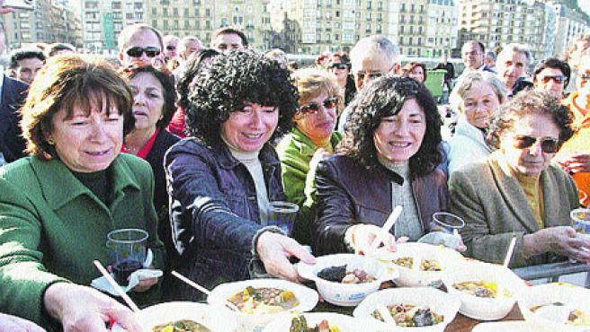 VIII Jornadas de Gastronomía en Donostia. (Juan Herero / Efe)