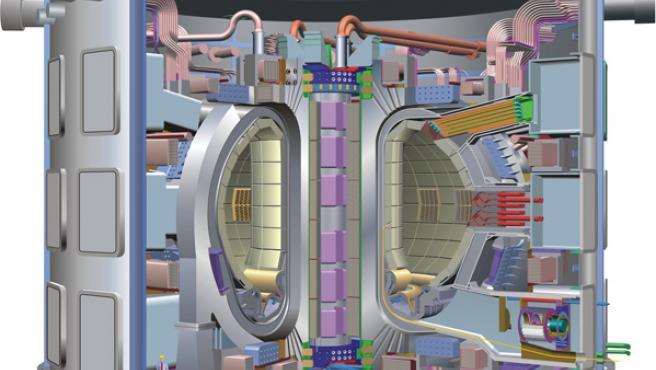 Diagrama del ITER, el proyecto internacional que estuvo a punto de desarrollarse en España.