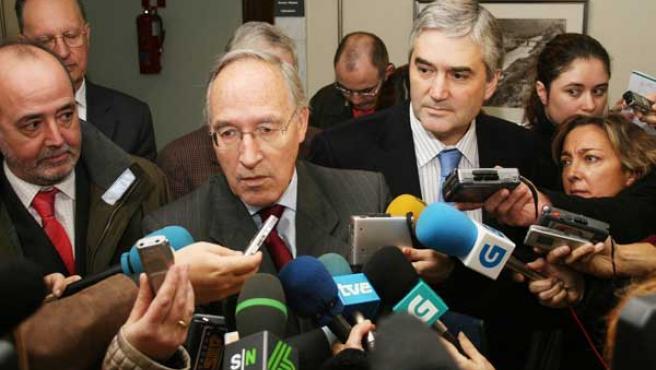 El presidente de Endesa, Manuel Pizarro. (José Mauriz / Efe)
