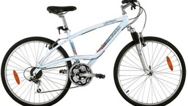 Una bici de Decathlon.