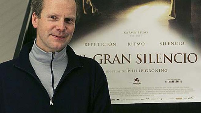 """Philip Groning, autor del documental """"El gran silencio"""", en Madrid. (Fernando Alvarado / Efe)"""