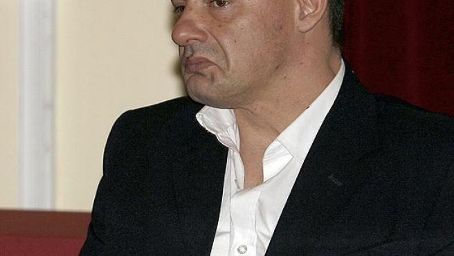 Tony Alexander King en el juicio por el crimen de la joven de Rocío Wanninkhof. (Rafael Díaz / Efe)