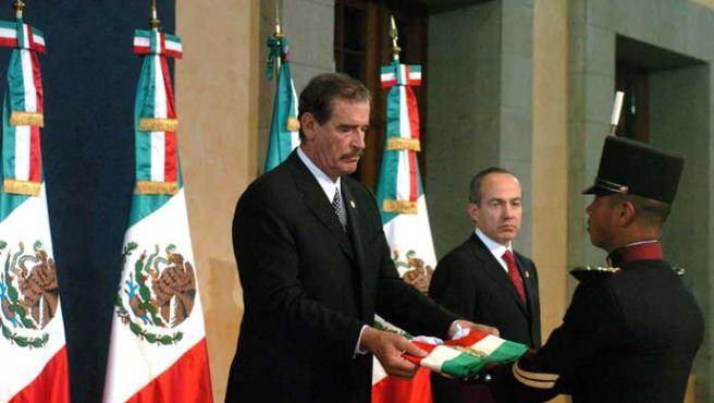 Felipe Calderón asumió la presidencia de México (Gustavo Benitez / Efe)