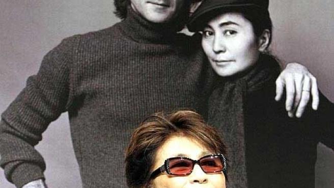 Lennon y Yoko Ono (Archivo)